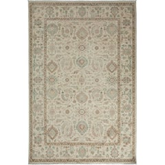 Oushak, Hand-Knotted Area Rug