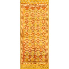 Beautifully Designed Vintage Moroccan Rug