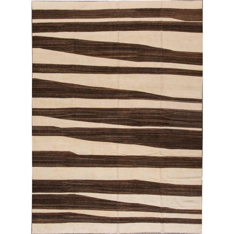 Captivating Superb Modern Kilim Rug For Sale At 1stdibs