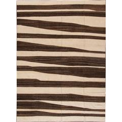 Captivating Superb Modern Kilim Rug