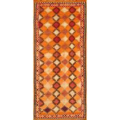 Beautifully Designed Vintage Moroccan Rug