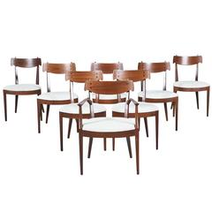"Kipp Stewart & Stewart MacDougall ""Declaration"" Dining Chairs for Drexel"