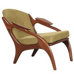 Adrian Pearsall Model 2249-C Lounge Chair for Craft Associates