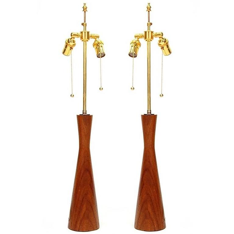 Pair of Lamps in the Manner of Phillip Lloyd Powell