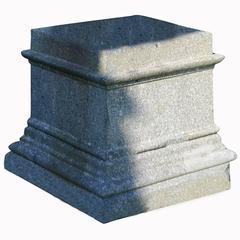 Stone Pedestal, 19th Century