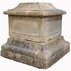 Stone Pedestal, 18th Century