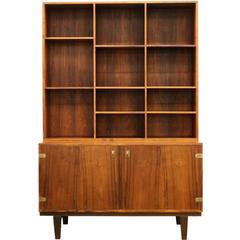 Mid-Century Modern Peter Lovig Nielsen Rosewood Bookcase Credenza 1960s Danish