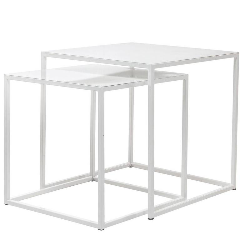 Frisco white nesting tables by patrick cain designs set of two for frisco white nesting tables by patrick cain designs set of two for sale watchthetrailerfo