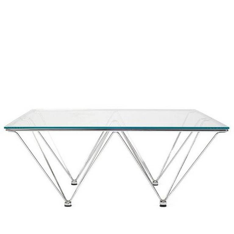 Paolo Piva Style Coffee Table For Sale