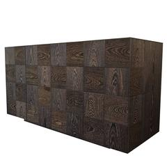 Fine 'Quadro' Sideboard with an Exclusive Geometric Design