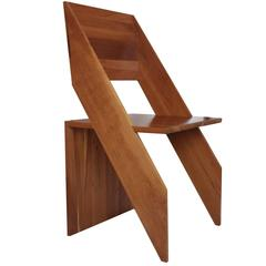 Modern 'Giotto' Chair with a Minimalistic Design