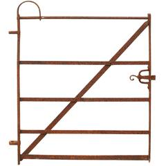 Early 19th Century Wrought Iron Pedestrian Gate