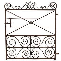 Regency Wrought Iron Pedestrian Gate