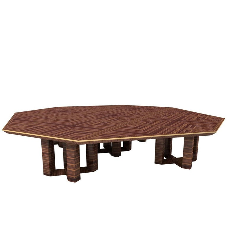 Ettore Octagonal Table 1930 For Sale