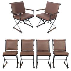Set of Six Dining Chairs by Cleo Baldon