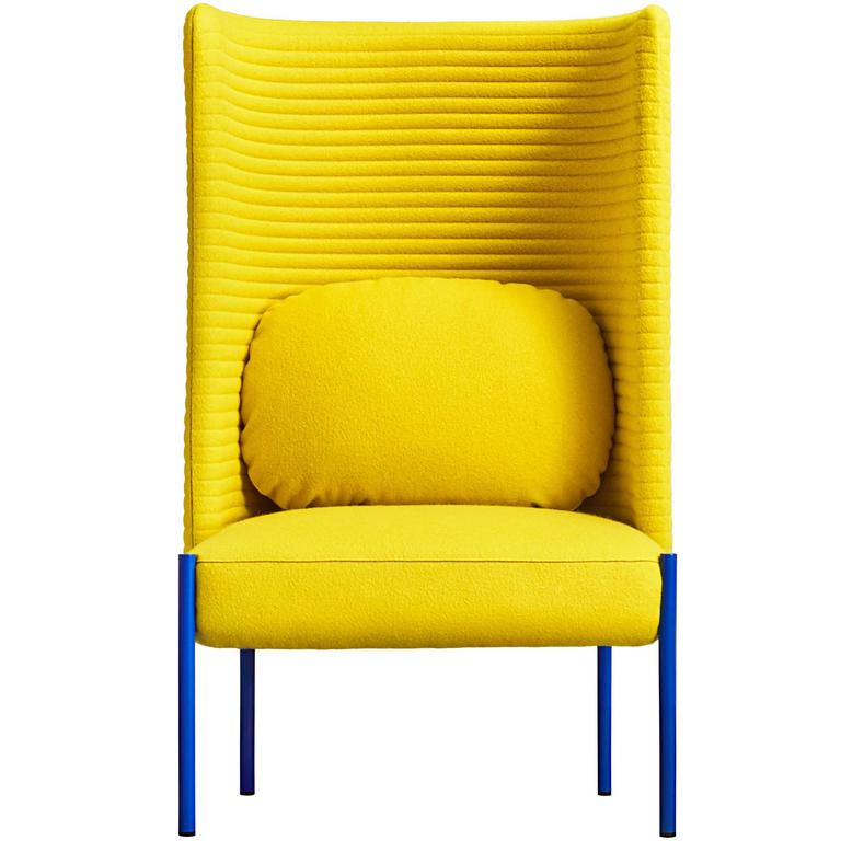 Ara Yellow Armchair By Perezochando For