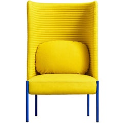 Ara Yellow Armchair by PerezOchando