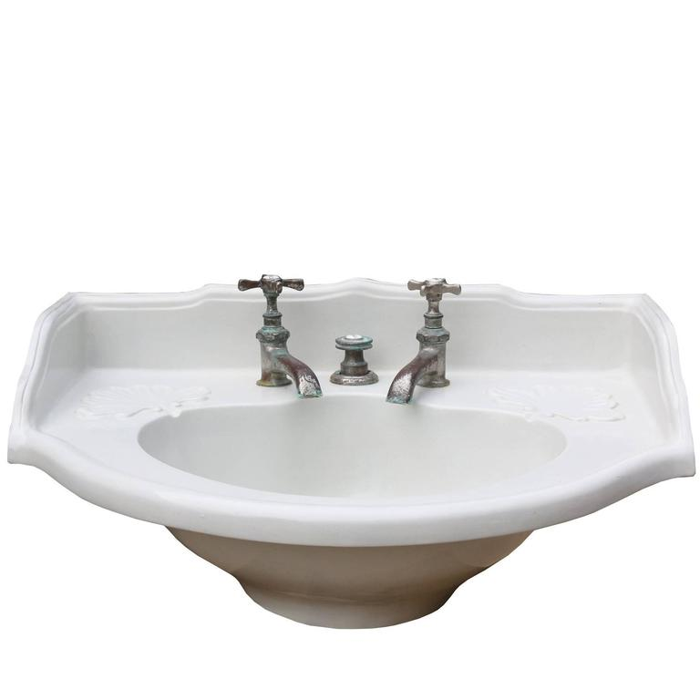 19th Century Antique French Basin Sink