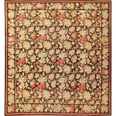 Antique Romanian Bessarabian Rug. Size: 9 ft 8 in x 10 ft 8 in (2.95 m x 3.25 m)