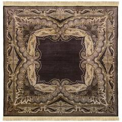 The Duke Hand Knotted Silk Turkish Rug