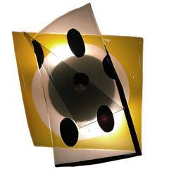 Glass Sheet Sconce XV