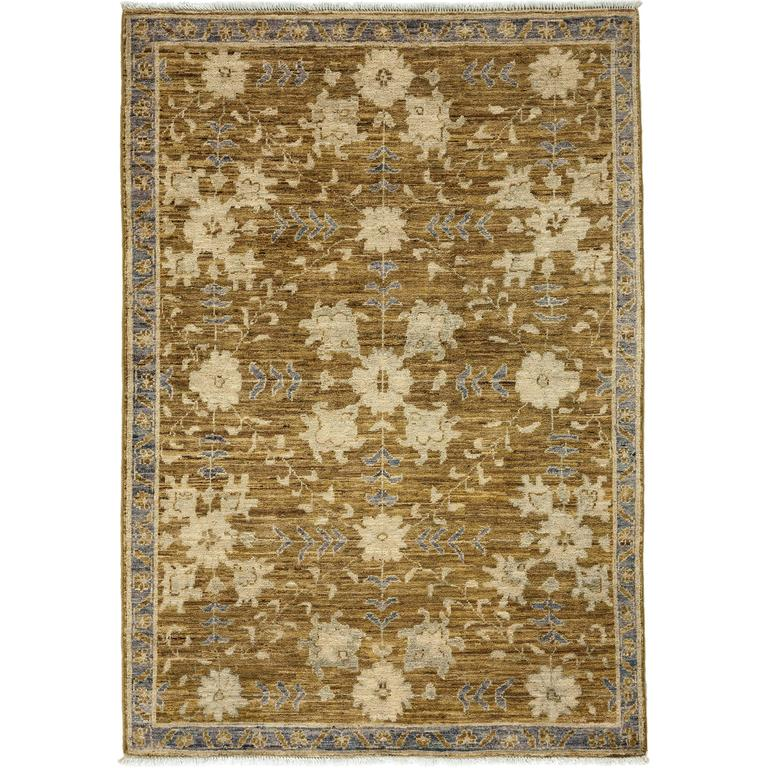Green Oushak Area Rug, Solo Rugs For Sale At 1stdibs