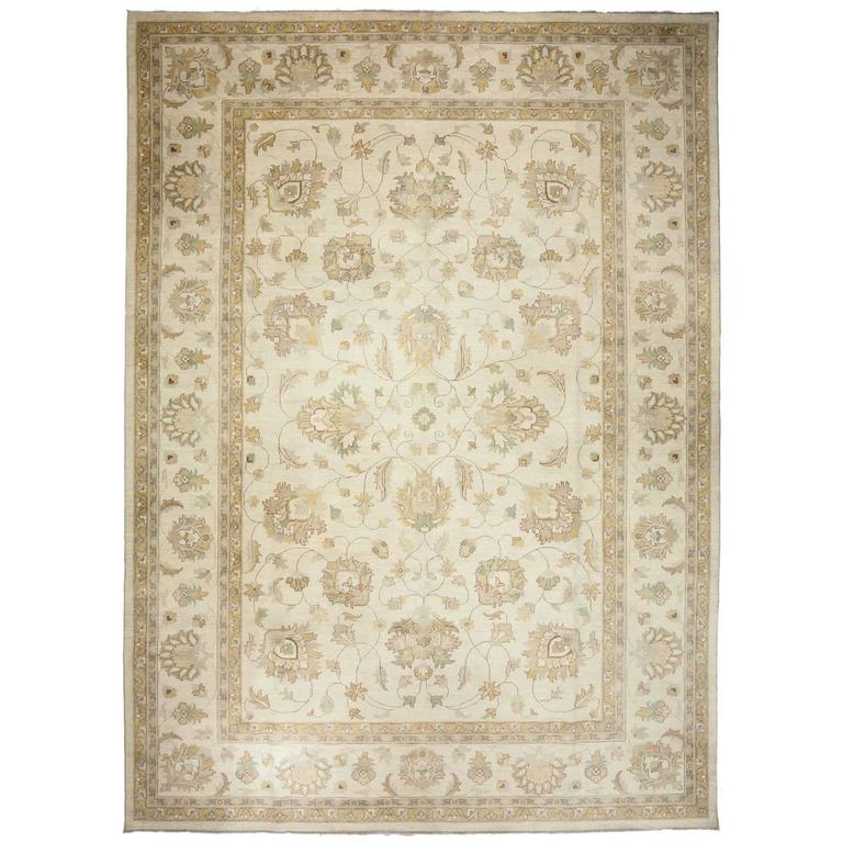 Beige Oushak Area Rug Solo Rugs For Sale At 1stdibs