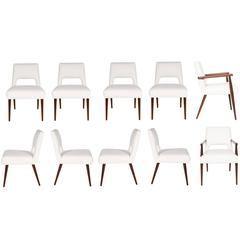 Set of Ten Hofford Dining Chairs