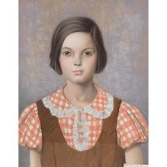 Portrait of a Young Girl, Rudolf Carl Mueller, German/American, 1867-1967