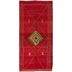 Simply Beautiful Vintage Moroccan Rug
