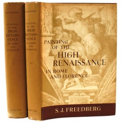 Paintings of the High Renaissance in Rome and Florence 2 Vol. Set, 1st Ed