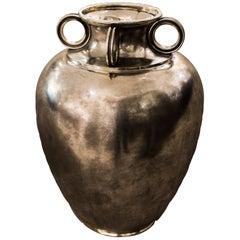 1940s Italian Silver Vase by Mario Buccellati