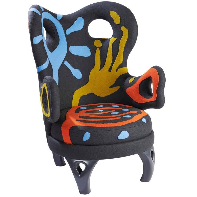 """Léopoldie"" armchair by Elizabeth Garouste For Sale"