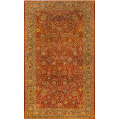 Simply Beautiful Antique Indian Rug