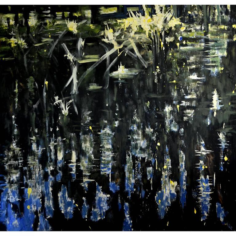 Expressionist Painting by Tahir Fatah