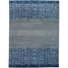 Blue Pool Tile Rug