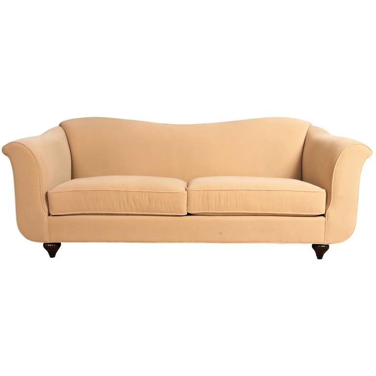 Kravet Fine Quality Two Cushion Sofa For Sale At 1stdibs