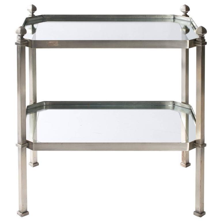 1930s Chrome Side Table