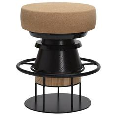 Tembo Black Stool, Low