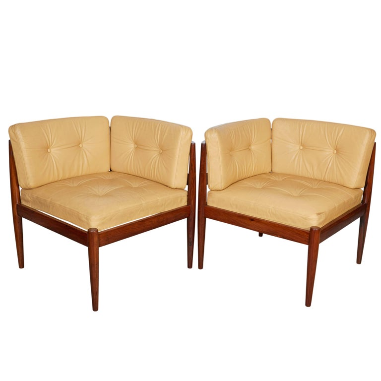 Kai Kristiansen Modul Line Corner Chairs 1