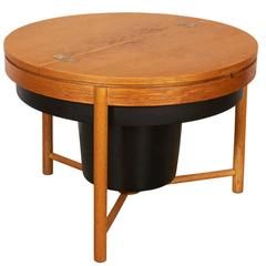 Danish Round Side Table