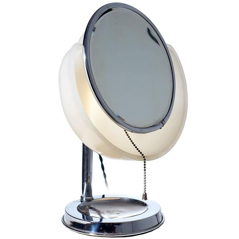 1920s Art Deco Make-Up Mirror 1
