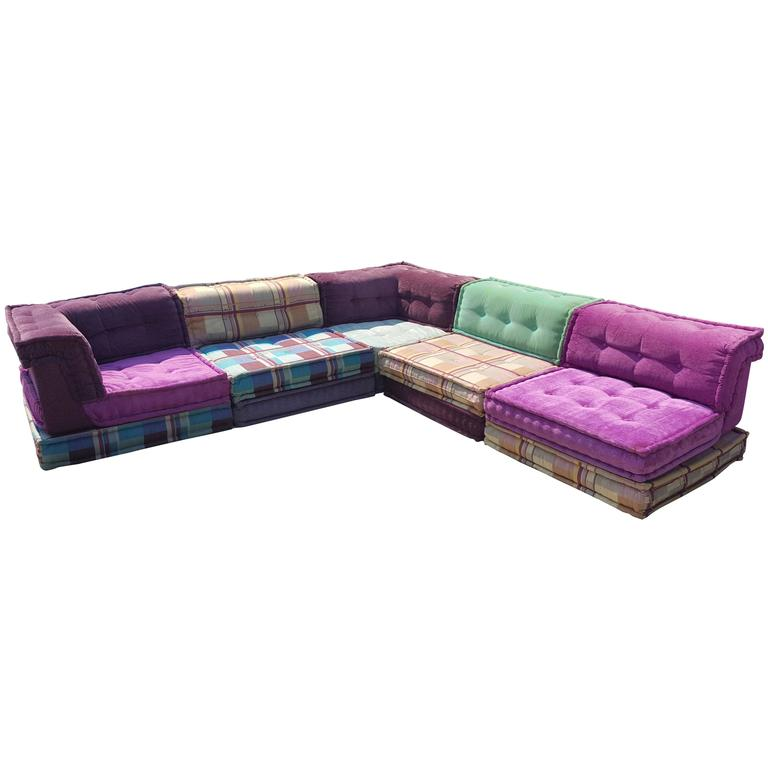 mah jong modular sofa by roche bobois at 1stdibs. Black Bedroom Furniture Sets. Home Design Ideas