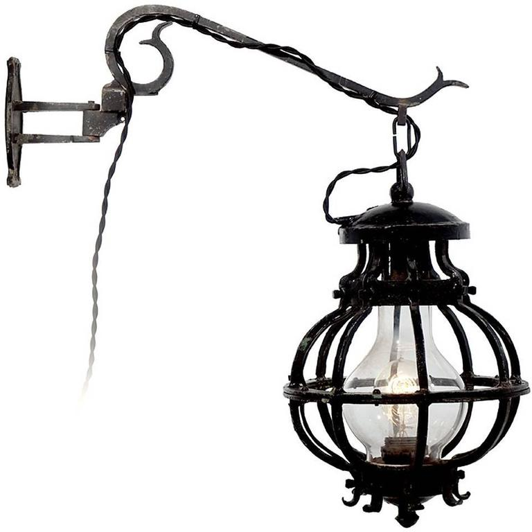 Rusic Blacksmith Barn Sconce 1