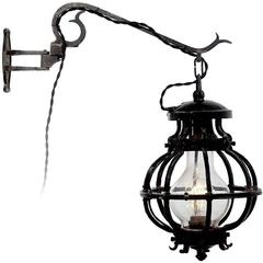 Rusic Blacksmith Barn Sconce