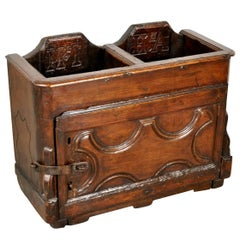 Italian 17th Century Primitive Collection Box