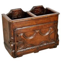 Italian 17th Century Primitive Collection Box