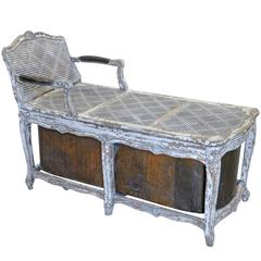 Exceptional Regence Chaise Longue, Bath Tub