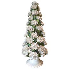 Mid-Century Jumbo Italian Carnation Topiary