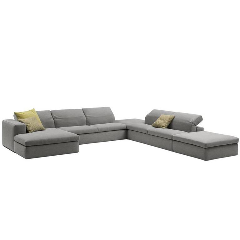 Italian Modern Sectional Sofa with Adjustable Back Made in Italy 1  sc 1 st  1stDibs : modern sectional - Sectionals, Sofas & Couches